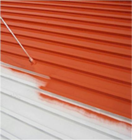 Affordable Metal Roof Painting